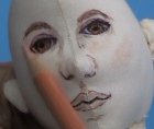 Painting Male Face Video